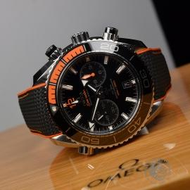 OM21294S Omega Seamaster Planet Ocean 600m Co Axial Chrono Close10
