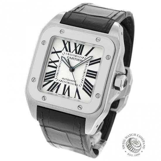 808140b8d39dc Cartier Santos 100 Watch - W20073X8 - Ref: - Cartier Watches ...