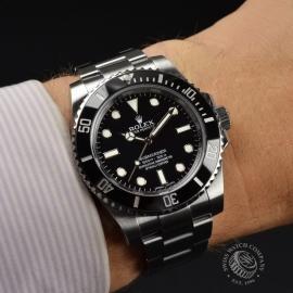 RO21285S Rolex Submariner Non Date Wrist