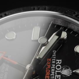RO22374S Rolex Explorer II Orange Hand Close5