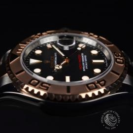 21427S Rolex Yachtmaster 40mm Close2