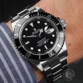 RO22728S Rolex Submariner Date Unworn Wrist