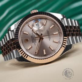 RO22620S Rolex Datejust 41 Unworn Close10