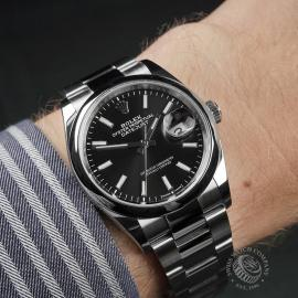 RO22542S Rolex Datejust 36 Wrist