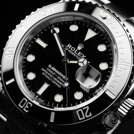 RO22277S Rolex Submariner Date Ceramic 41mm Unworn Close2