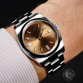 RO21848S Rolex Oyster Perpetual 36 Wrist