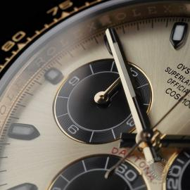 RO22580S Rolex Cosmograph Daytona 18ct Gold Cerachrom Unworn Close5