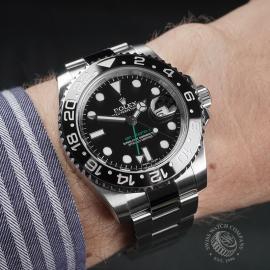 RO22480S Rolex GMT Master II Wrist