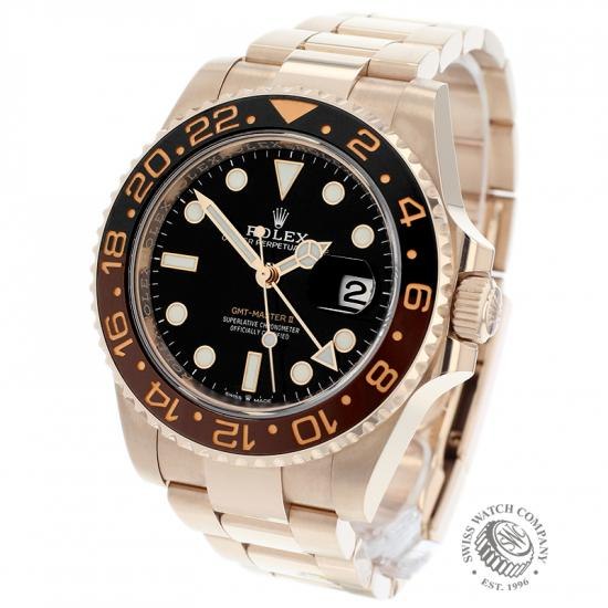 Rolex GMT-Master II 18ct Everose Gold