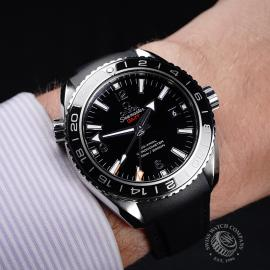 OM21785S Omega Seamaster Planet Ocean Co-Axial GMT Wrist