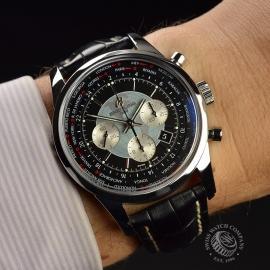 BR19708S Breitling Transocean Chronograph Unitime Wrist 1