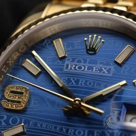 RO1816P Rolex Datejust 18ct Close7