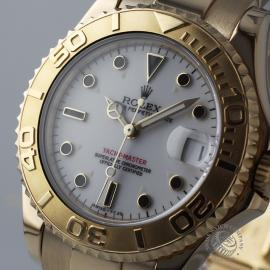 RO21031S Rolex Yachtmaster Mid Size 18ct Close1