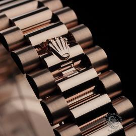 RO22329S Rolex Day-Date 40 Everose Diamond Unworn Close8