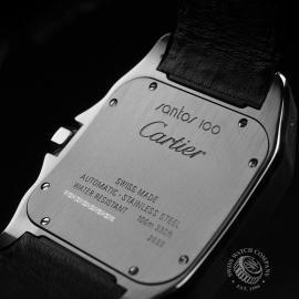 CA1820P Cartier Santos 100 Close14