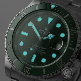 RO21728S Rolex Submariner Date Ceramic 'Hulk' Close1