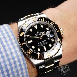RO21980S Rolex Submariner Date Unworn Wrist