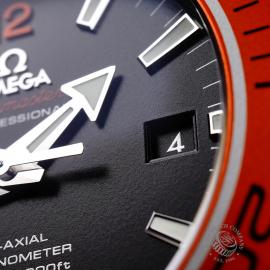 OM21969S Omega Seamaster Planet Ocean 600M Co-Axial Close5 1