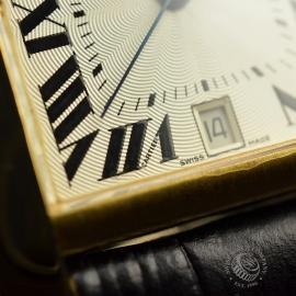 CA21253S Cartier Tank Francaise Mid Size18ct Close7