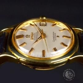 Vintage Omega Constellation 18ct Close3