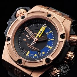 HU1885P Hublot King Power Oceanographic 1000 King Gold Close2