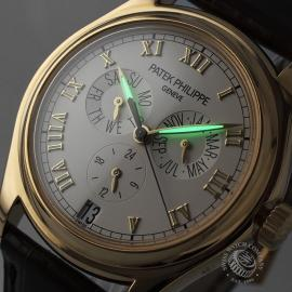 PK21281S Patek Philippe Annual Calendar 18ct Close1