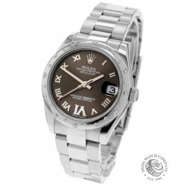 RO22610S Rolex Ladies Datejust Midsize Back
