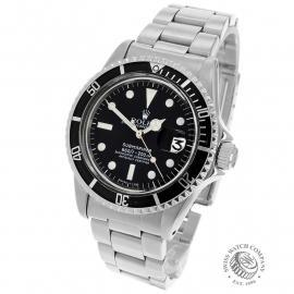 RO21817S Rolex Submariner Date Back