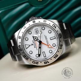 RO21745S Rolex Explorer II Orange Hand Close10