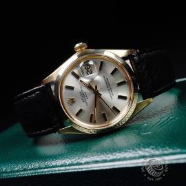 RO21812S Rolex Vintage Date 18ct Close9