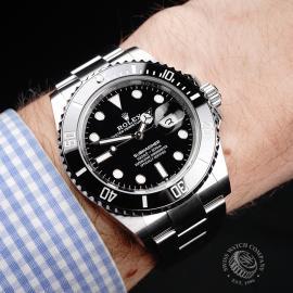 RO1945P Rolex Submariner Date Ceramic 41mm Unworn Wrist