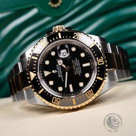RO22167S Rolex Sea-Dweller Close10