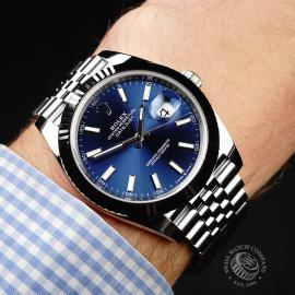 RO22044S Rolex Datejust 41 Wrist