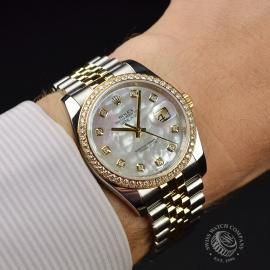 RO21255S Rolex Datejust Wrist