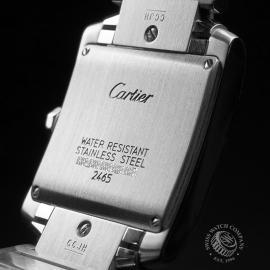 CA21581S Cartier Tank Francaise Midsize Close10