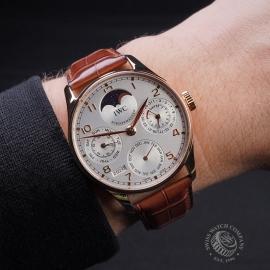 IW1884P IWC Portuguese Perpetual Calendar 5022 Wrist