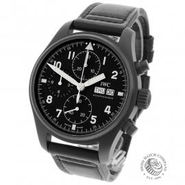 IW1955P IWC Pilots Chronograph Limited Edition Back