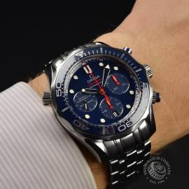 OM2139S Omega Seamaster Professional Chronograph Co Axial Wrist