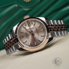 RO22635S Rolex Ladies Datejust Close2
