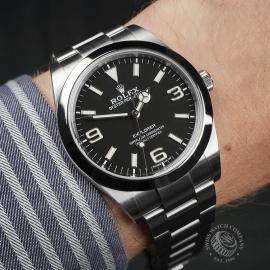 RO22498S Rolex Explorer 39 Wrist
