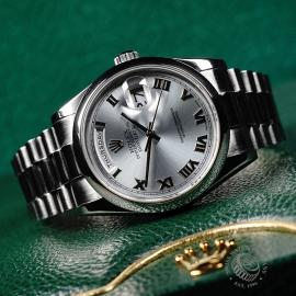 RO21951S Rolex Day-Date Platinum Close10