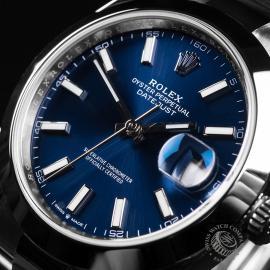 RO22076S Rolex Datejust 41 Unworn Close2