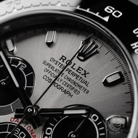 RO22128S Rolex Cosmograph Daytona White Gold Unworn Close3