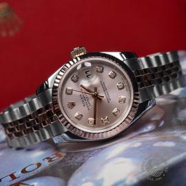 RO22737S Rolex Ladies Datejust Close1