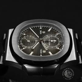 PA21109S Patek Philippe Nautilus Travel Time Chronograph Close8