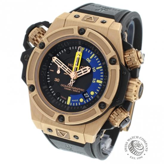 Hublot King Power Oceanographic 1000 King Gold (Limited Edition)