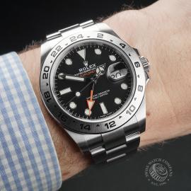 RO22408S Rolex Explorer II Orange Hand Wrist