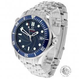 OM21529S Omega Seamaster James Bond 007 Limited Edition Back