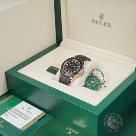RO22598S Rolex Yachtmaster Everose Gold Box
