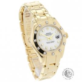 RO21247S Rolex Ladies Pearlmaster Dial
